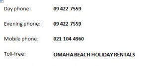 Omaha-holiday-contact details